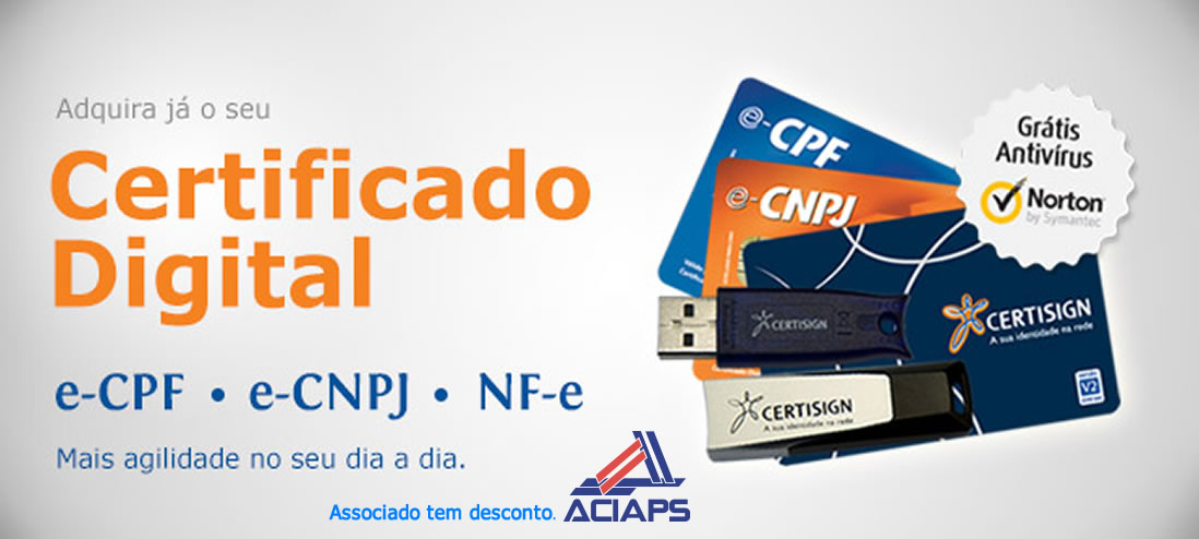 Certificado Digital ACIAPS
