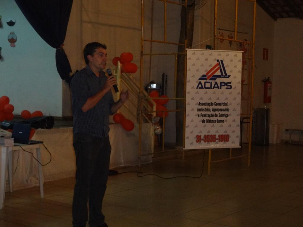Presidente da ACIAPS Marcus Júnior