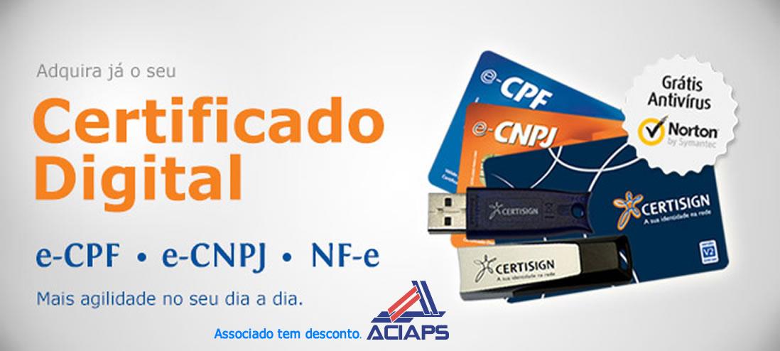 Certificado Digital ACIAPS