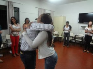 Abraço, sempre é abraço!
