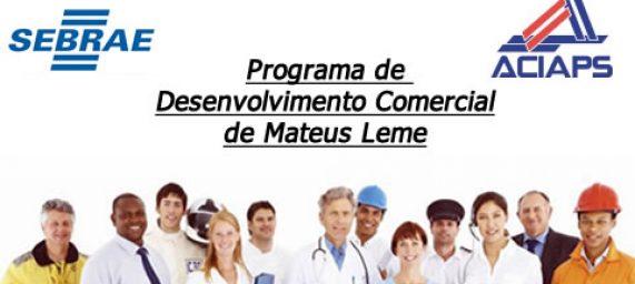 Programa de Desenvolvimento Comercial de Mateus Leme
