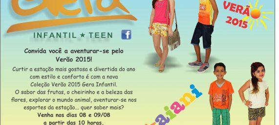 Verão 2015 – Gera Infantil – Teen